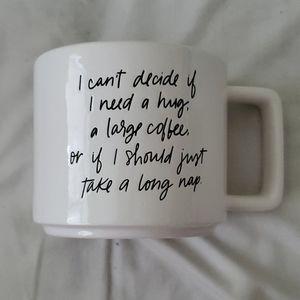 I Can't Decide If I Need A Hug a Large Coffee Mug